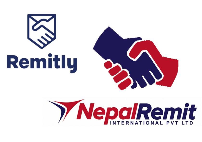 नेपाल रेमिट र रेमिट्ली बिच रेमिट्यान्स सम्झौता